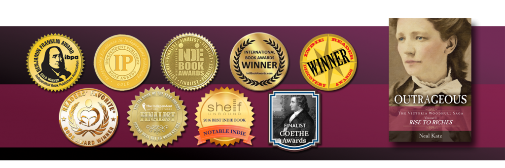 2016 Winner of three Gold Medals: IBPA Ben Franklin, Bill Fisher Award for Best First Book by a Publisher, the IPPY Award for Best Historical Fiction, and Gold Medal for Historical Fiction/Personage by Reader's Favorite.