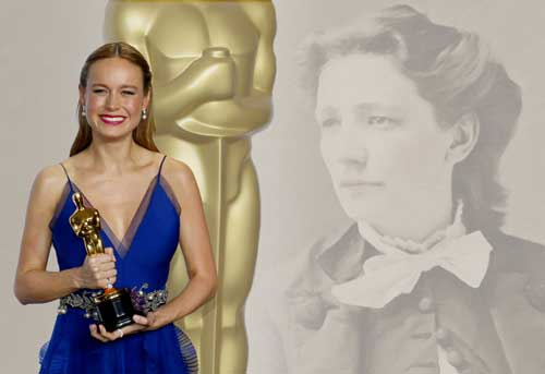 Congratulations to Brie Larson